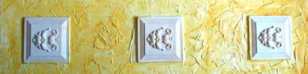 wall tiles appliques