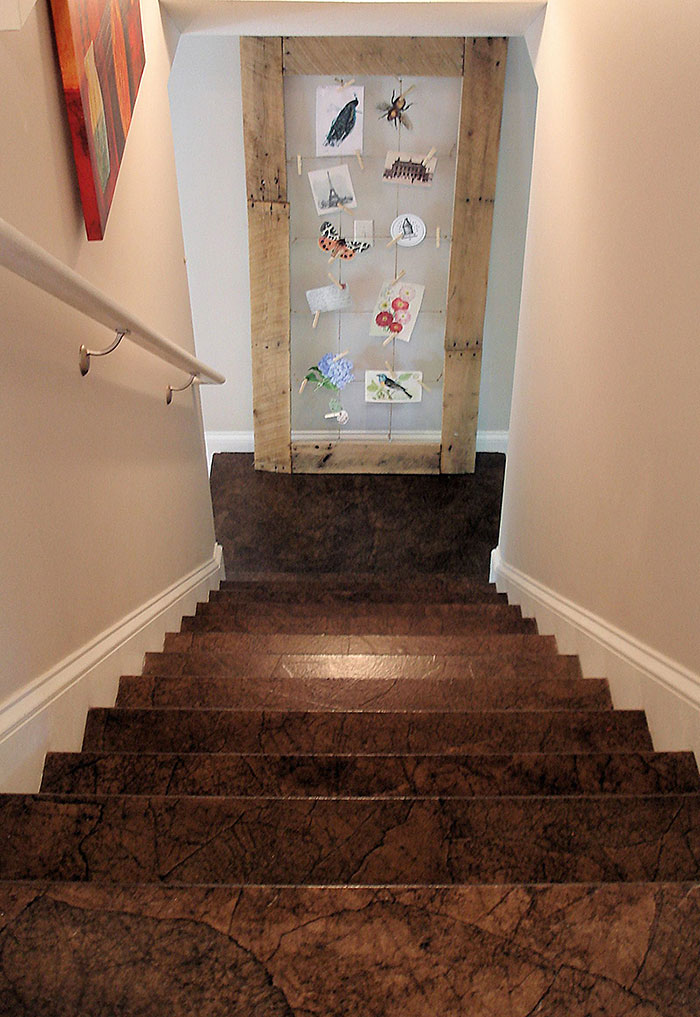Amazing Brown Paper Flooring Lara Berch Designs